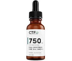 Full Spectrum CBD Oil Drops - 750mg